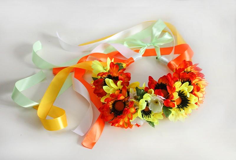 Автор: xPANTERAx, Фотозал: Мое хобби, Венок на праздник, фотосъемку. Выполнен из искусственных цветов и атласных лент.