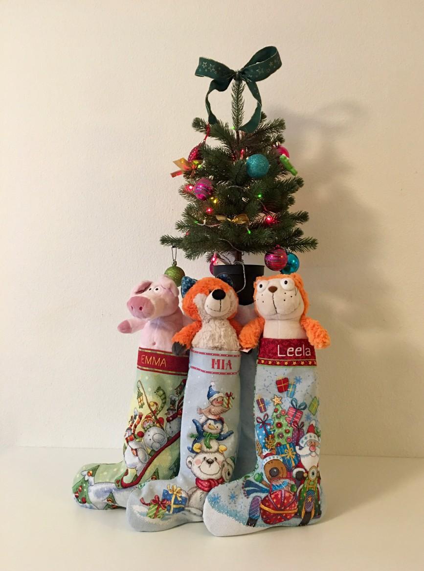 Рождество 2016. Наша ёлка с подарками.
