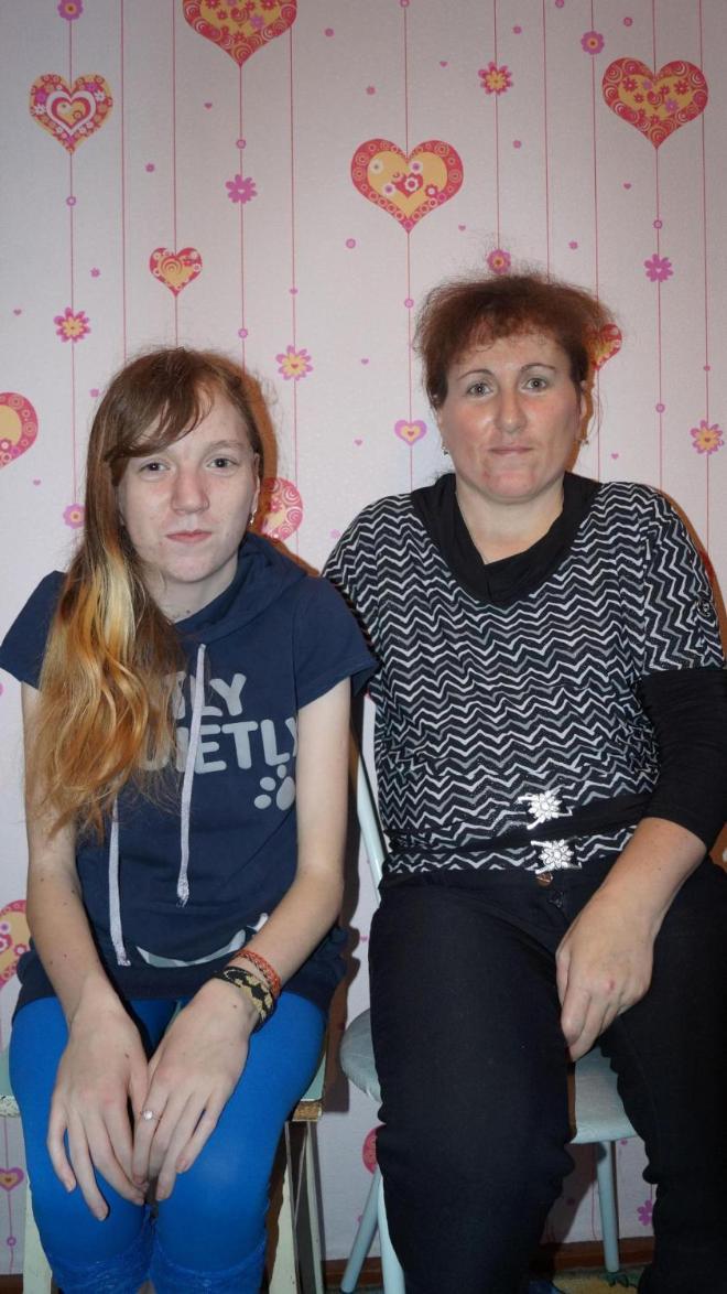 Даша и ее мама