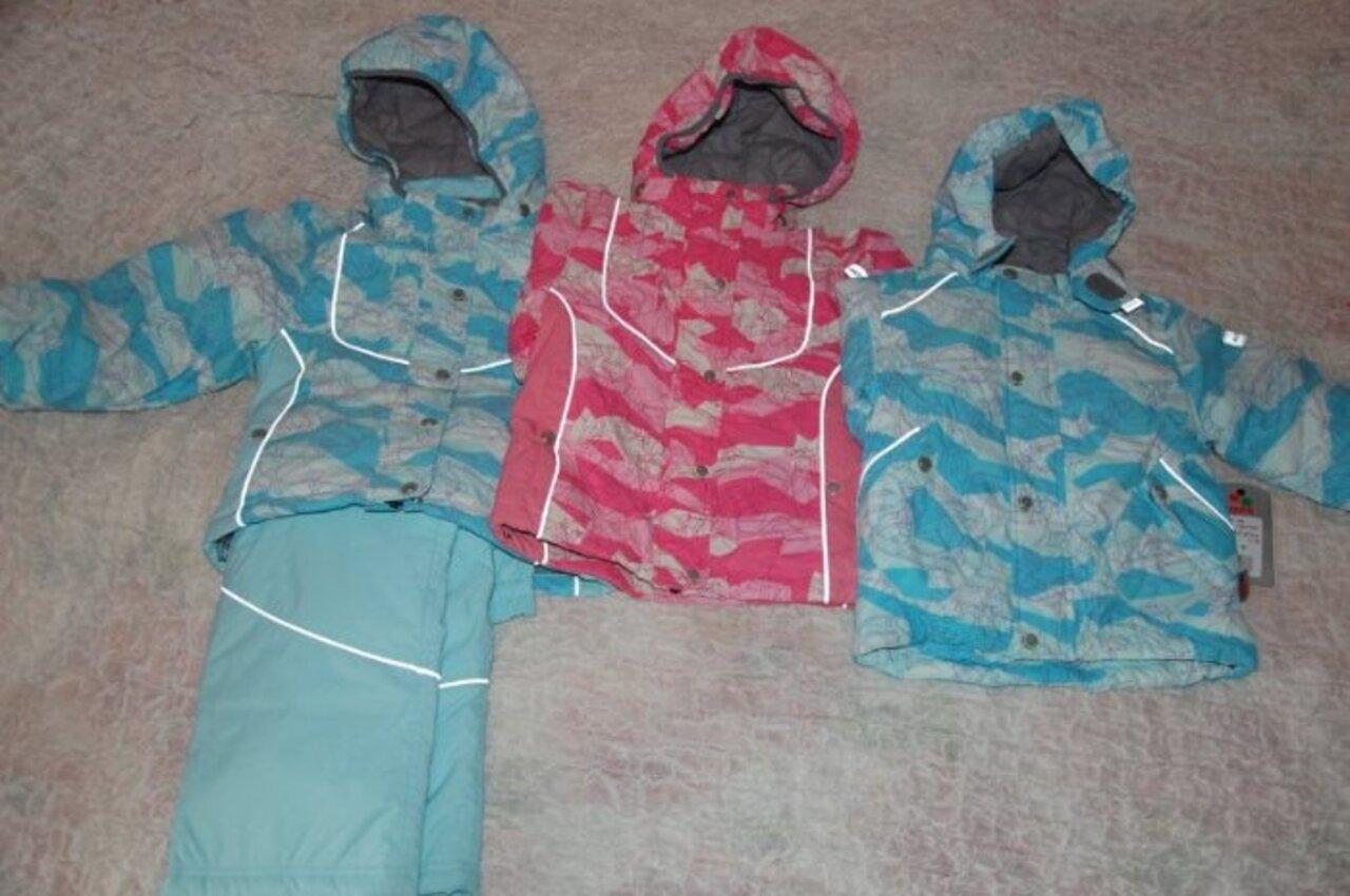 1107СА09 KERTU цена  3100р (вместе со штанами) куртка ватин 130 г. , комбинированная подкладка из нейлона и флиса+штаны 100гр. Подходит на межсезонье,  голубой комплект на девочку! продается куртка+штаны! в наличии : 98 розовая куртка нету голубая куртка унисекс р.92 цена 2000р