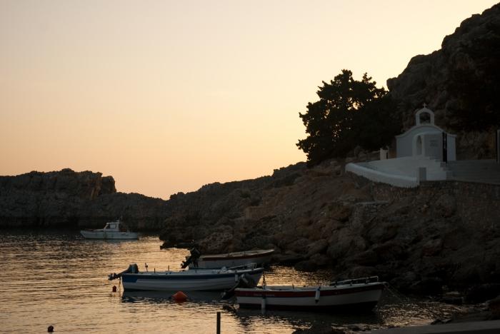 Родос, бухта Святого Павла