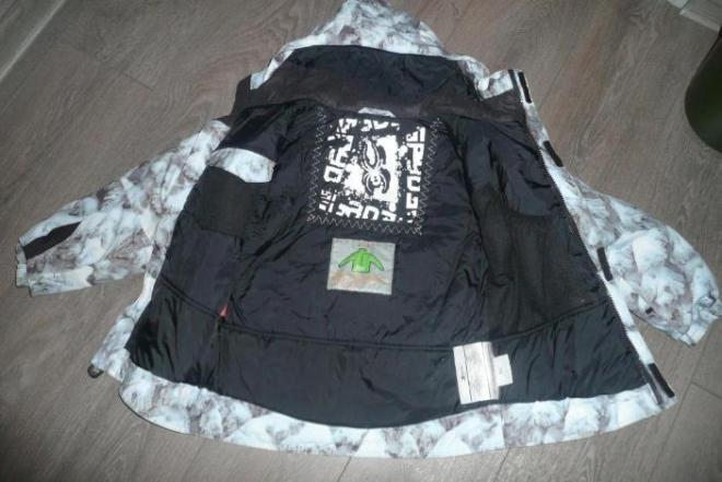 Куртка SPYDER, зима,  мембрана Spylon XTL 10000mm Oч.тёплая. Марк. 6, 110 см, большемерит Состояние отличное. 3000 р.