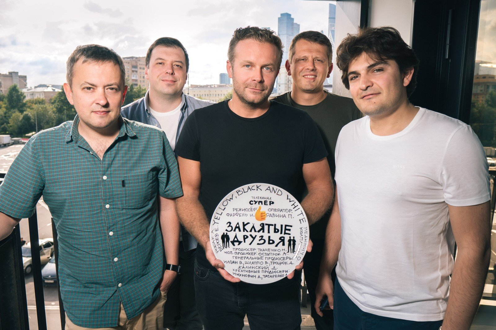 Егор Бероев и Александр Робак станут заклятыми друзьями в новом сериале