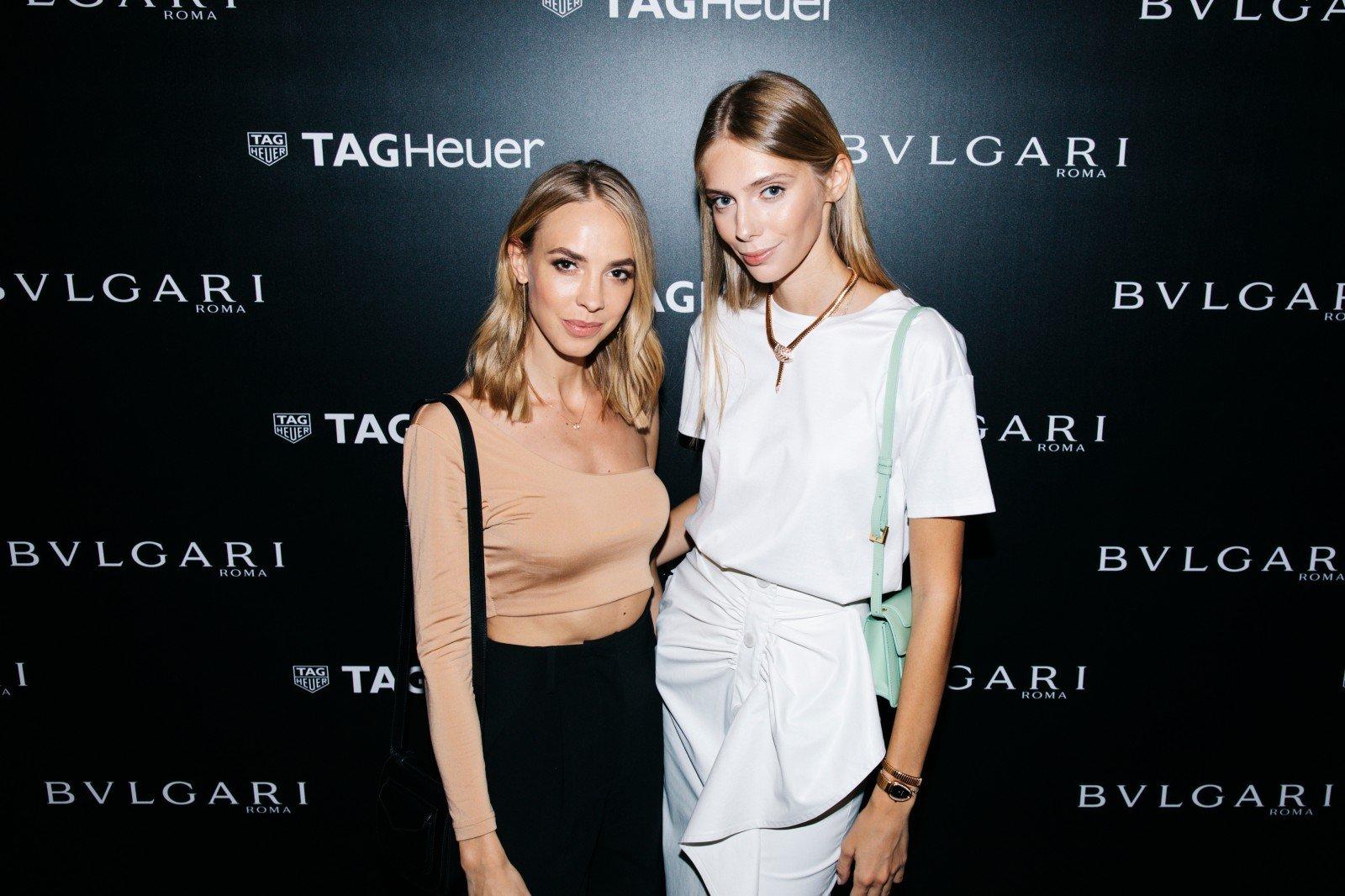 Светлана Ходченкова, Надежда Сысоева и другие звезды на открытии часовых бутиков  Bvlgari и TAG Heuer