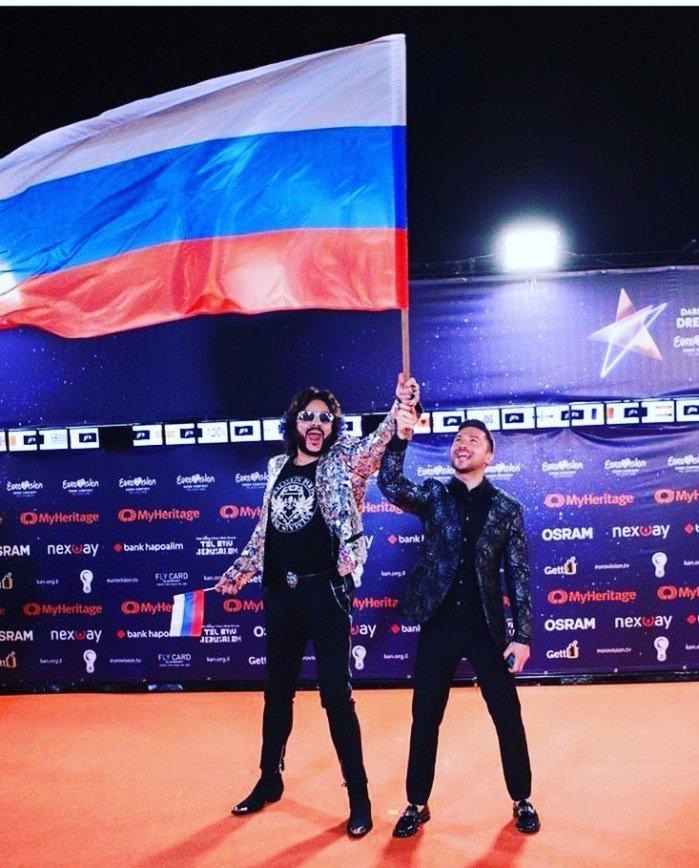 """Спасибо, дорогой Сережа: звезды поздравляют Лазарева с третьим местом на """"Евровидении"""""""