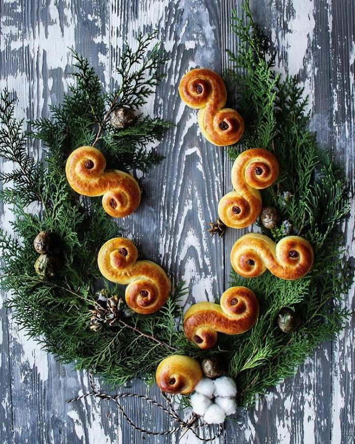 Сдобный Новый год: булочки, маффины и хлеб