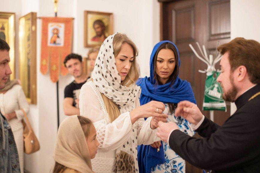 Юрий и Инна Жирковы покрестили младшего сына