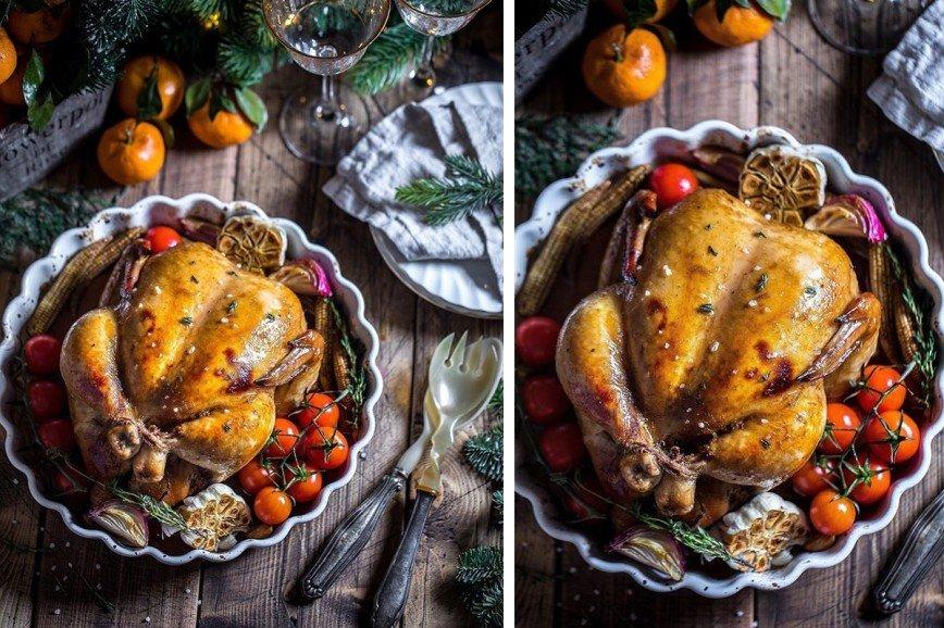 С хрустящей корочкой: как вкусно запечь курицу к Новому году
