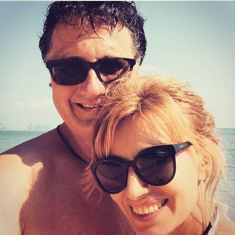 Редкий кадр: Ирина Нельсон опубликовала фотографию с мужем