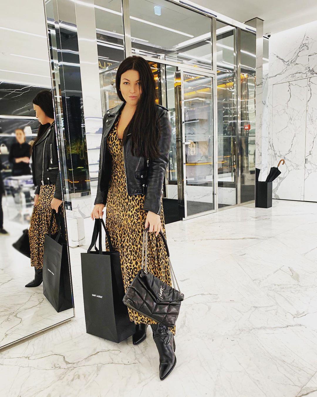 Дорого и богато: учимся у Ирины Дубцовой носить леопардовый принт