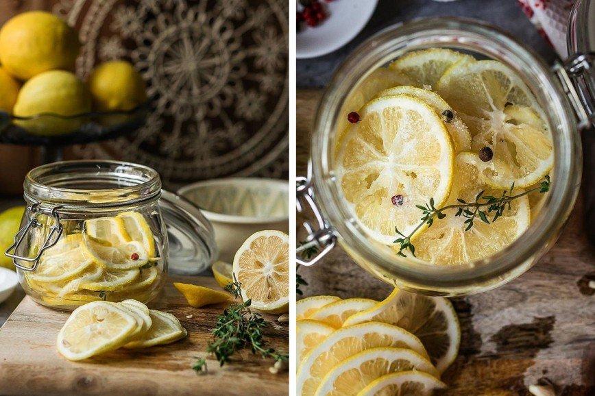 Для мяса и рыбы: готовим маринованные лимоны
