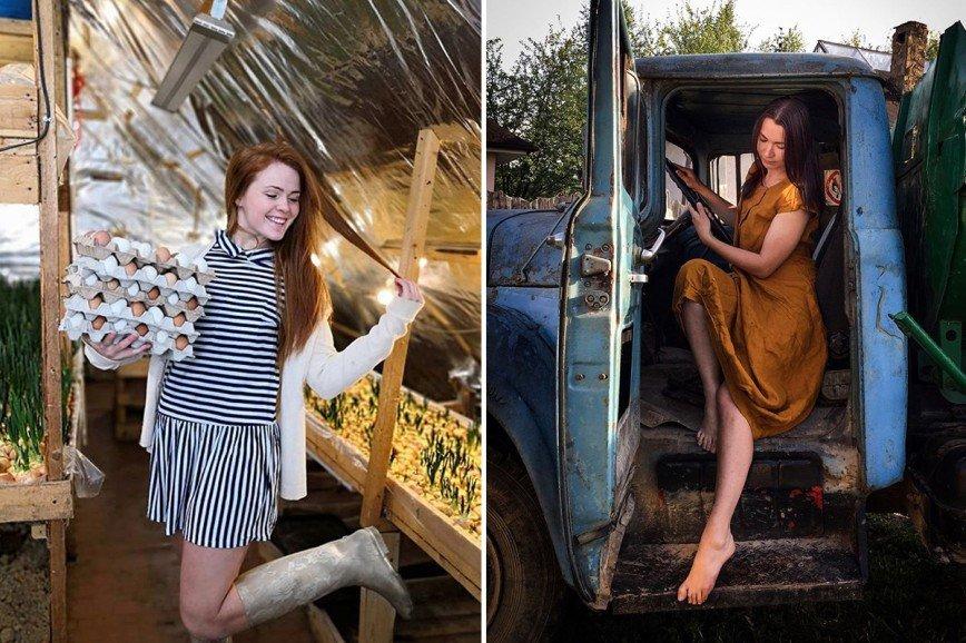 Гламур в курятнике: как переехать из мегаполиса в деревню и стать успешным блогером