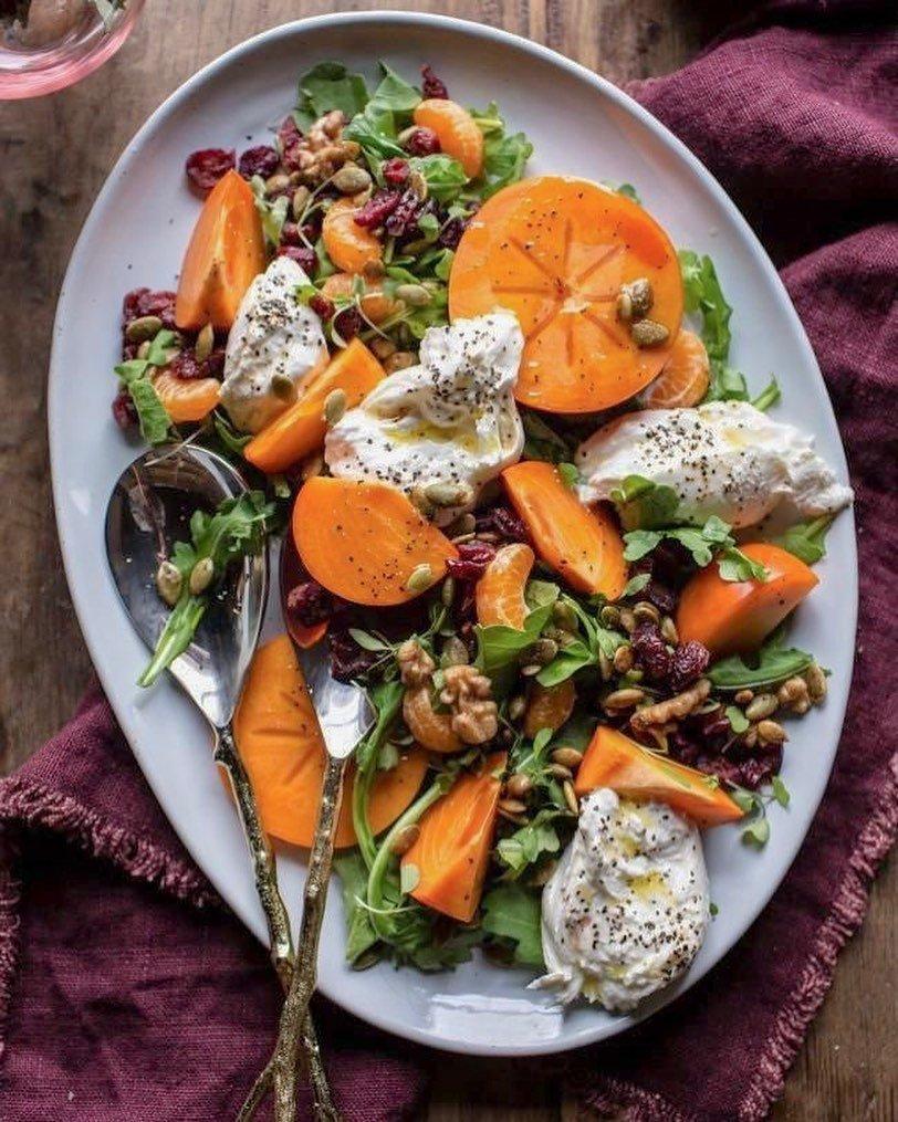 Салат, варенье и еще несколько простых рецептов с хурмой (это еще и красиво!)