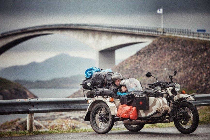 Путешествие по Европе на мотоцикле: [b][i]Атлантическая дорога, Норвегия[/b][/i]