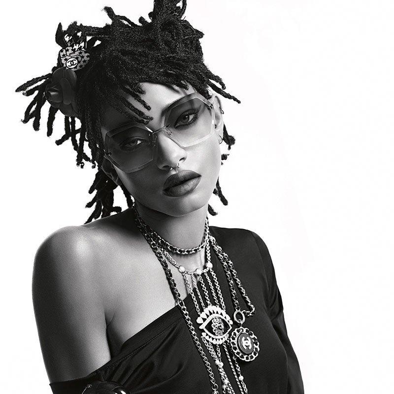 Уиллоу Смит в рекламной кампании Chanel