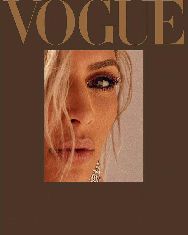 «Прикрытая на человека похожа»: Ким Кардашьян рассматривают в новой фотосессии