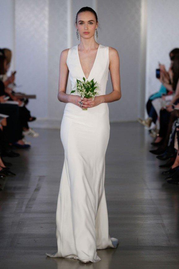 Свадебные платья Oscar de la Renta, весна 2017