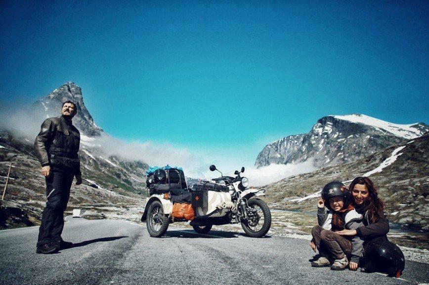 Путешествие по Европе на мотоцикле: [b][i]Норвегия[/b][/i]