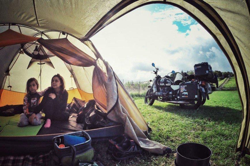 Путешествие по Европе на мотоцикле: [b][i]Утро в Англии[/b][/i]