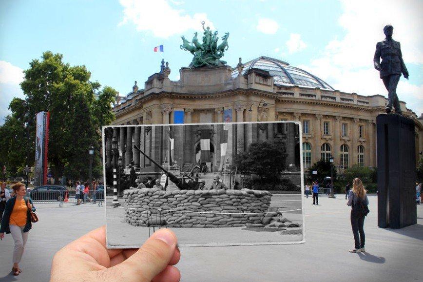 Париж: окна в прошлое: [b][i]Большой дворец, 1944[/b][/i]