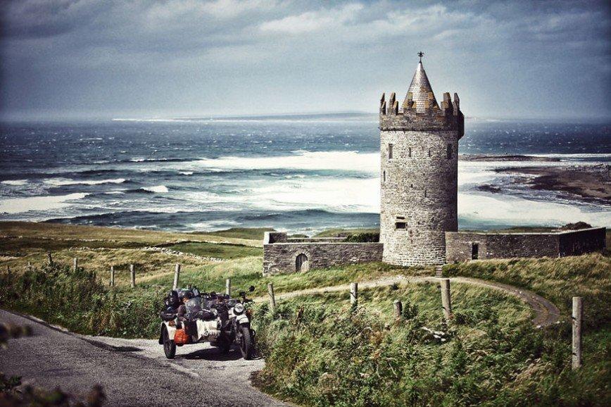Путешествие по Европе на мотоцикле