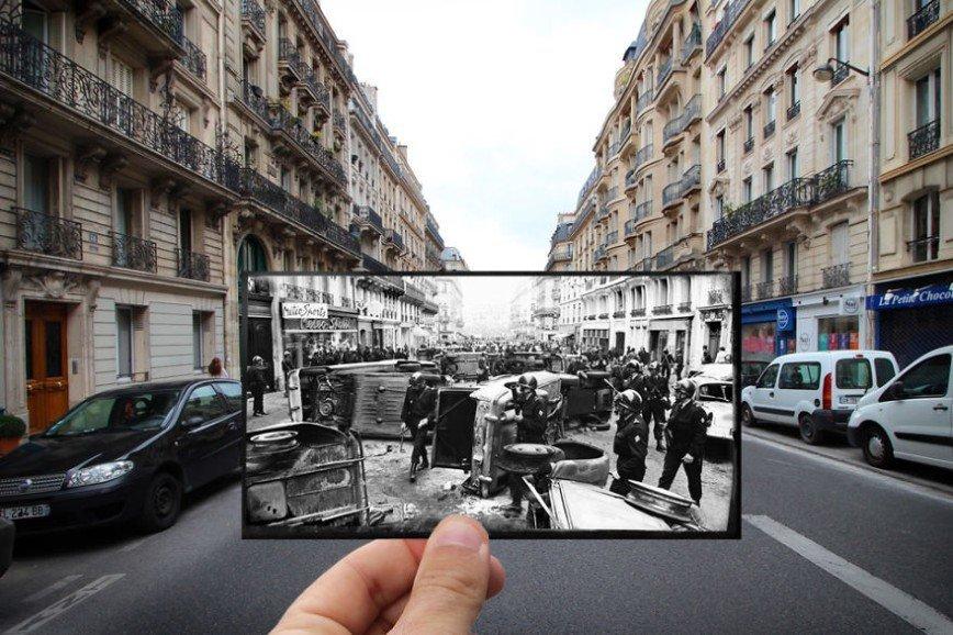 Париж: окна в прошлое: [i][b]Улица Ги Люссак, 1968[/i][/b]