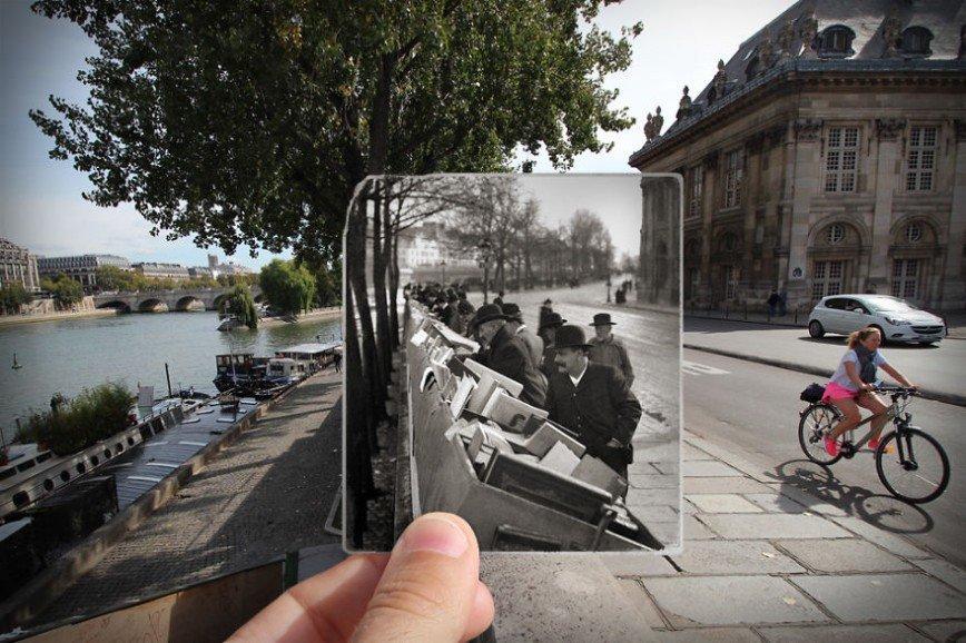 Париж: окна в прошлое: [i][b]Набережная Конти, 1900[/b][/i]
