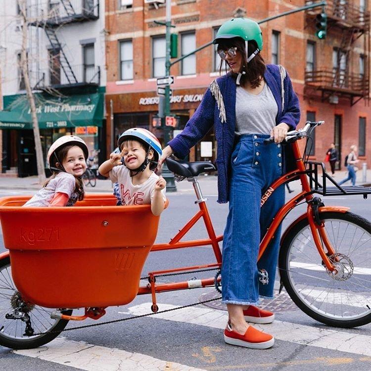 Модная мамочка из Нью-Йорка