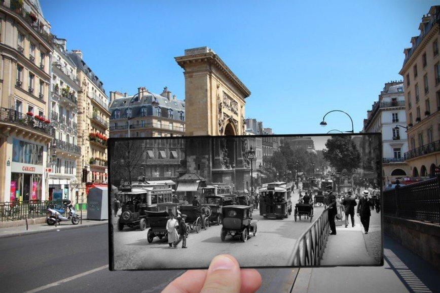 Париж: окна в прошлое: [i][b]Бульвар Сен-Дени, 1910[/b][/i]