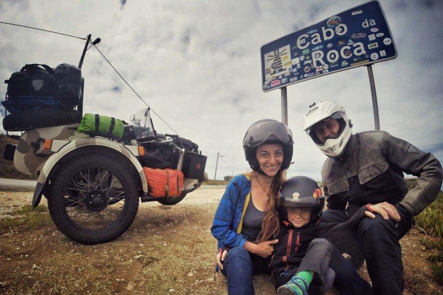 Путешествие по Европе на мотоцикле: [b][i]Мыс Рока (порт. Cabo da Roca), Португалия[/b][/i]