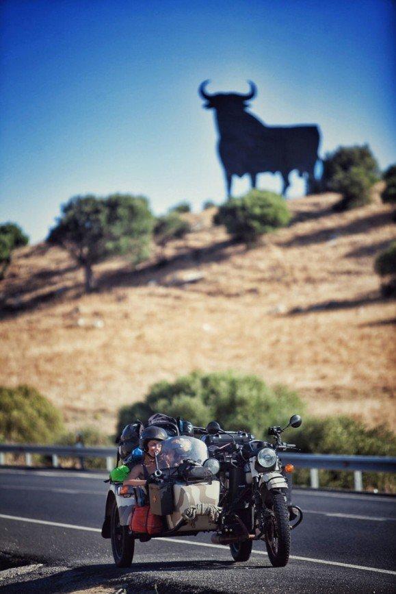 Путешествие по Европе на мотоцикле: