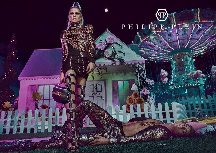 Королева хип-хопа Ферги в рекламной кампании Philipp Plein: