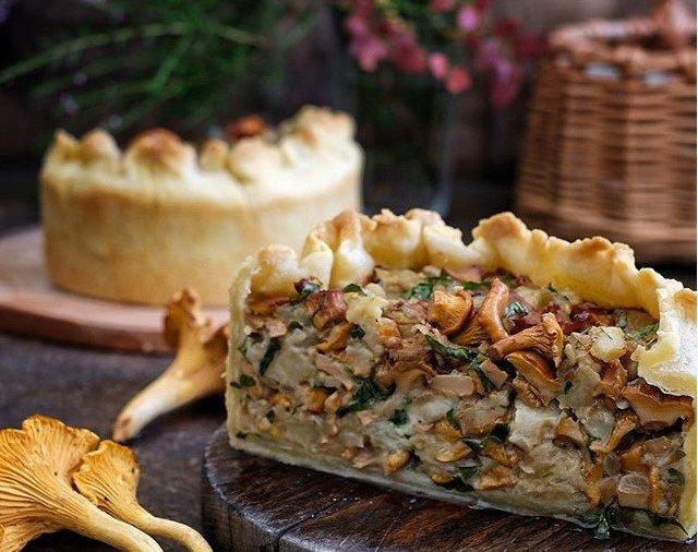 Пирог с баклажанами и моцареллой — pic 7