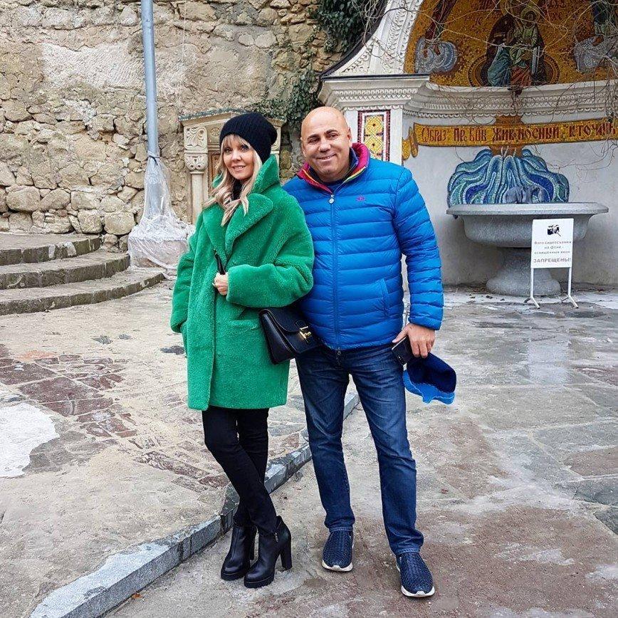 Пригожин и Валерия прогулялись по Бахчисараю