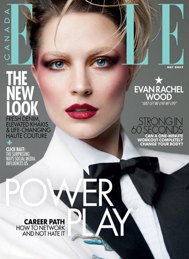 Эван Рэйчел Вуд переборщила с макияжем: