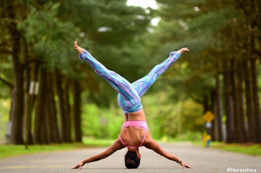 Семейная йога Лоры Касперзак: