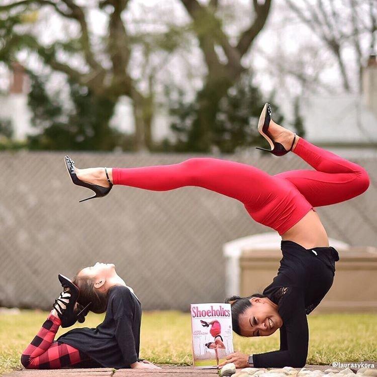 Семейная йога Лоры Касперзак