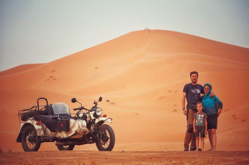 Путешествие по Европе на мотоцикле: [b][i]Мерзуга, Марокко[/b][/i]