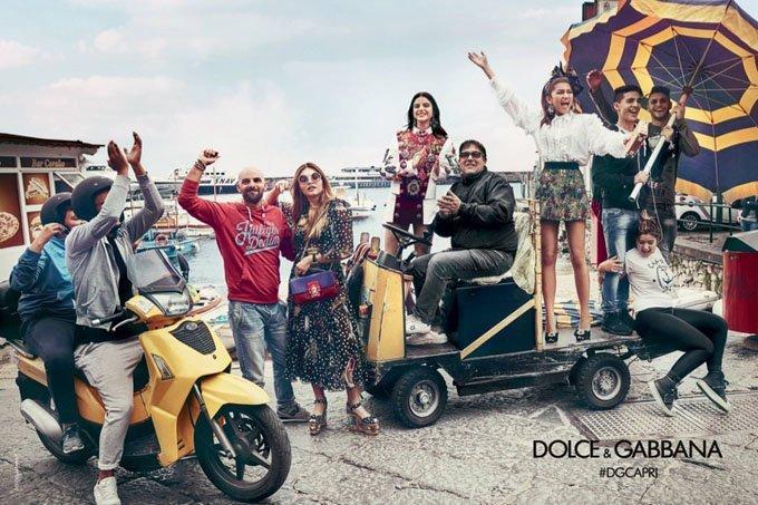 Звездные дети в рекламе Dolce & Gabbana, весна-лето 2017