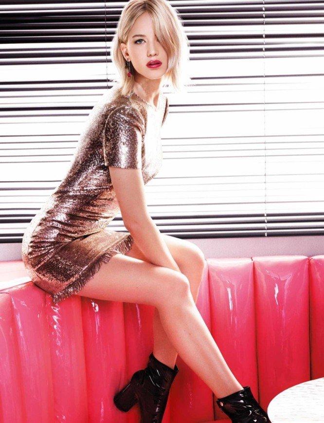 Губы Дженнифер Лоуренс созданы для помады Dior