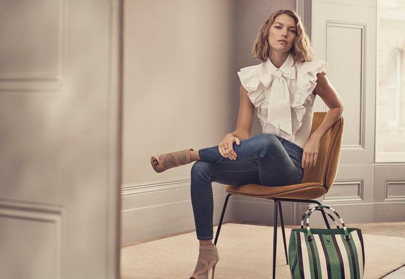 Рекламная кампания Karen Millen, весна-лето 2017