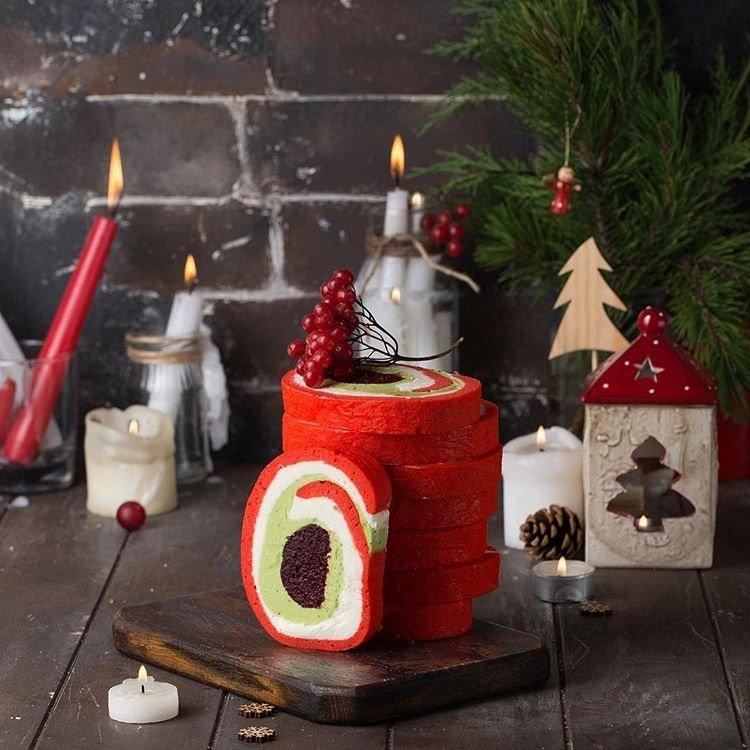 Сладкий стол: готовим классическое рождественское полено