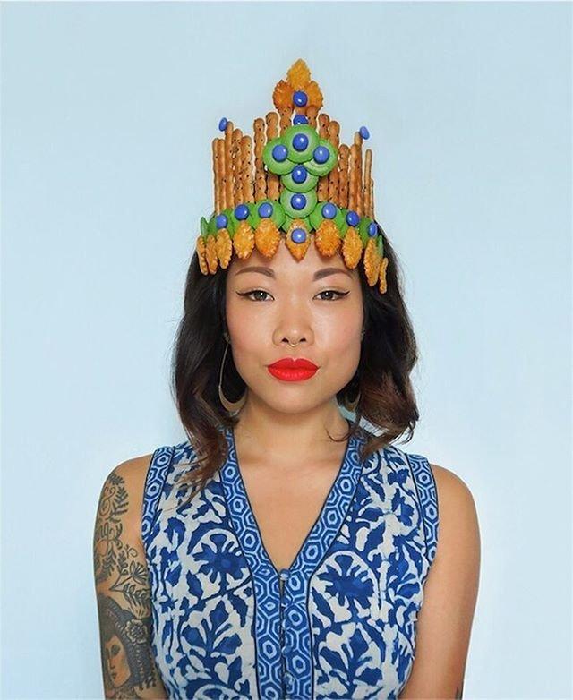 Съедобные короны для отчаянных модниц: