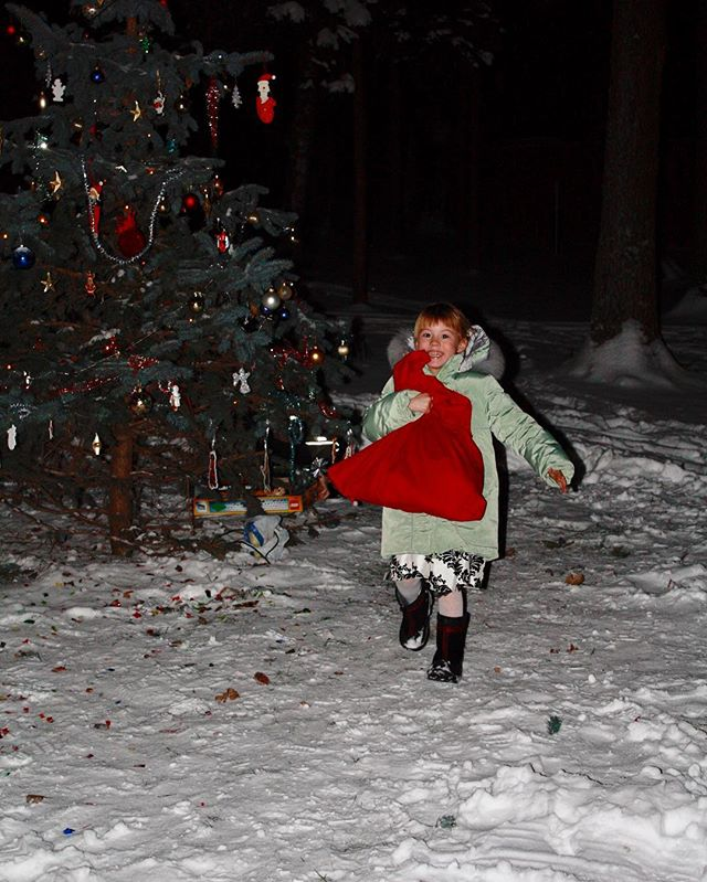 Юлия Меньшова окунулась в новогодние воспоминания прошлых лет