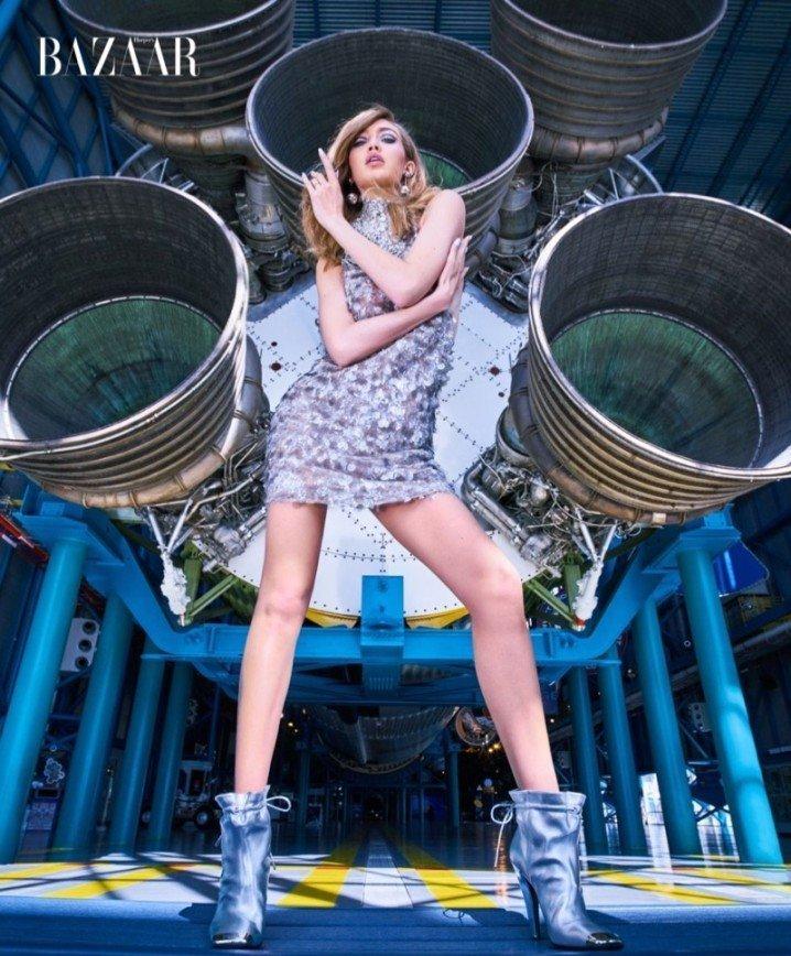 Джиджи Хадид летит в космос: