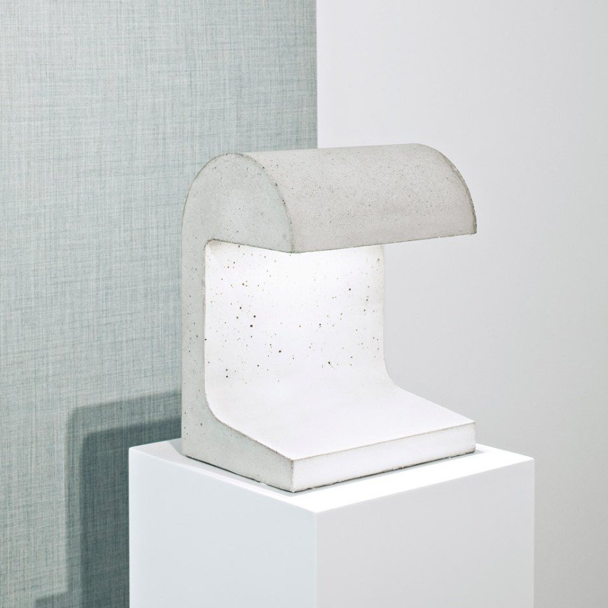 Светильник из бетона от Винсента Ван Дайсена