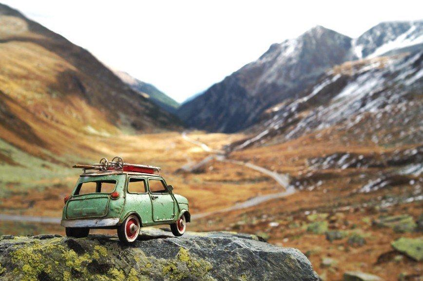 Путешествия игрушечных машин