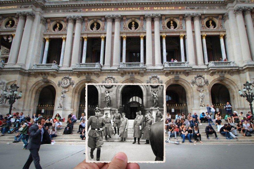 Париж: окна в прошлое: [i][b]Площадь Оперы, 1940[/i][/b]