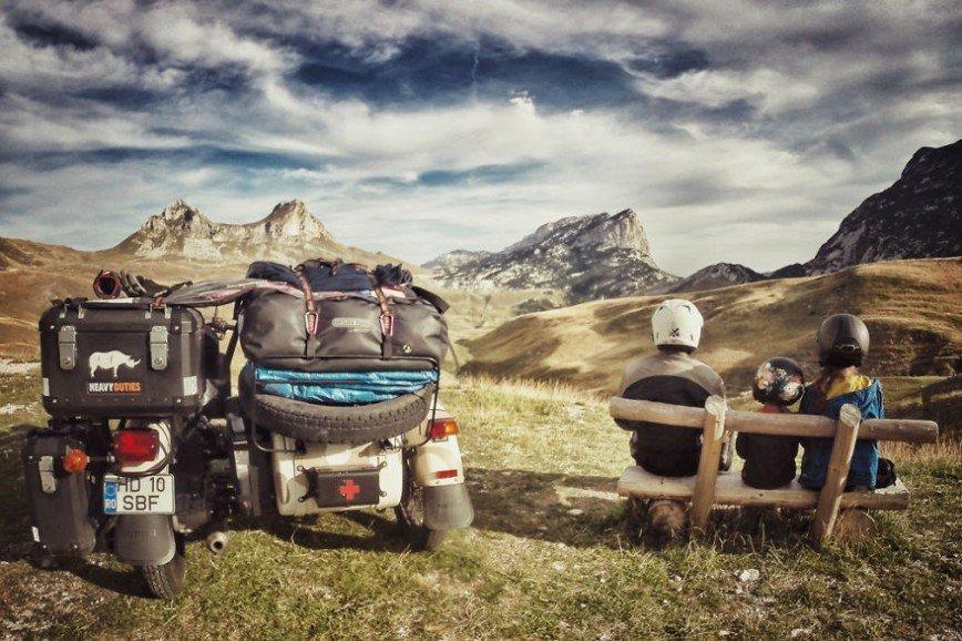 Путешествие по Европе на мотоцикле: [b][i]Перевал Седло, Черногория[/i][/b]