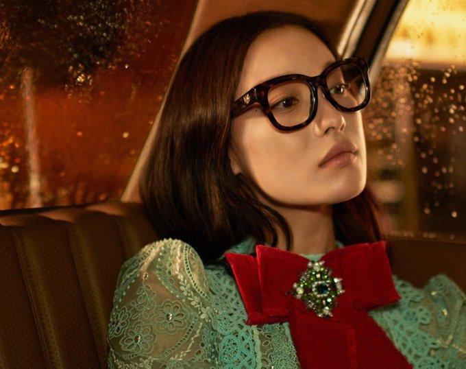 Рекламная кампания аксессуаров Gucci
